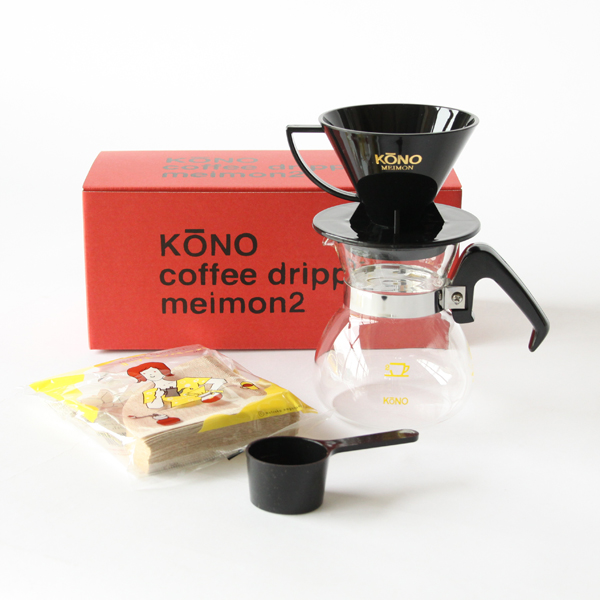 Coffee dripper set for two