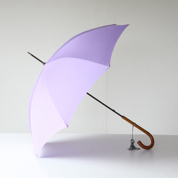 Women Long Umbrella Malacca Lilac
