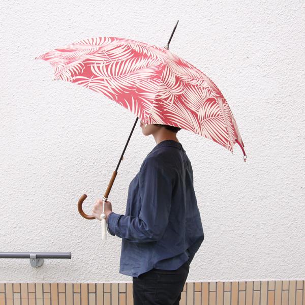 日傘 マラッカ ハワイアン レッド