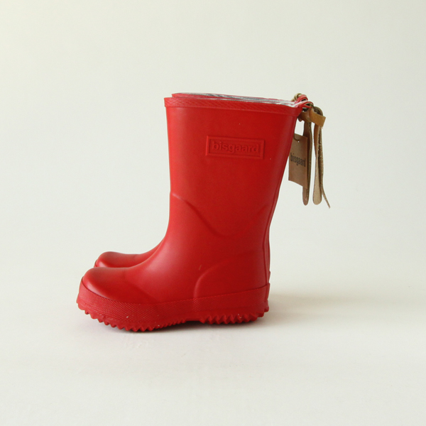 Rain boots red