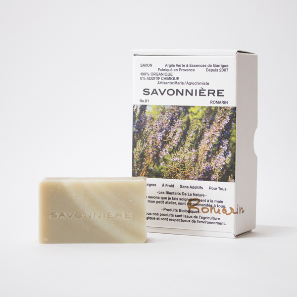 Soap Green clay and the grace of South France