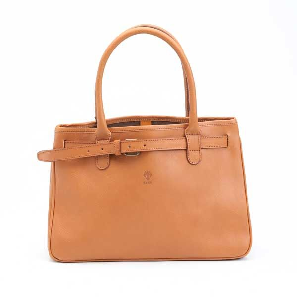 CI-VA  LEATHER TOTE BAG