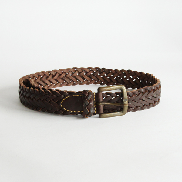 FIELDER MESH BELT  BROWN/30inc