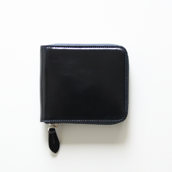 CORDOVAN BILLFOLD WALLET(Navy)