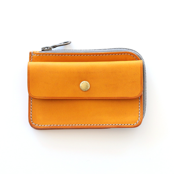 COMPACT TWIN PURSE(YELLOW)