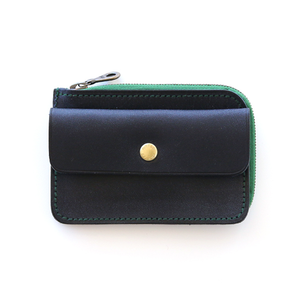 COMPACT TWIN PURSE(NAVY)