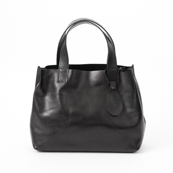 【別注】HORSE LEATHER MINI TOTE(BLACK)