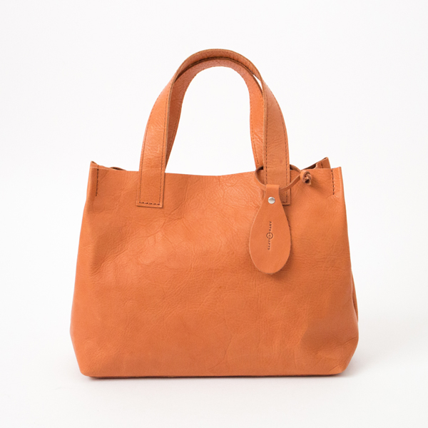 【別注】HORSE LEATHER MINI TOTE(TAN)