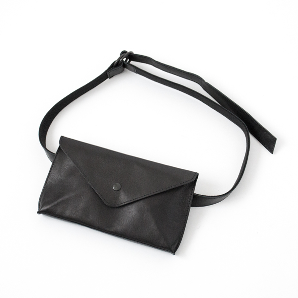 【別注】HORSE LEATHER WAIST POUCH(BLACK)
