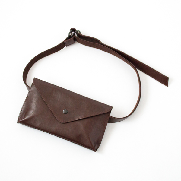 【別注】HORSE LEATHER WAIST POUCH(CHOCO)