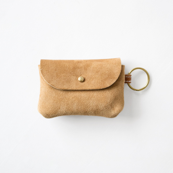 KUDU NAKED KEY AND CARD CASE