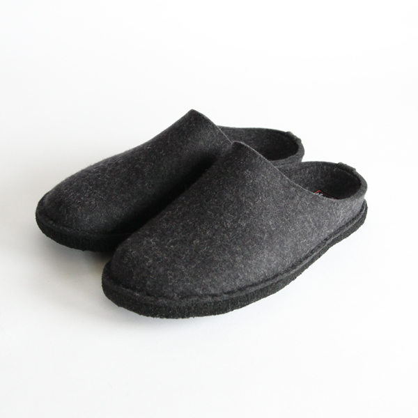 Roomshoes Indoor soft charcoal gray