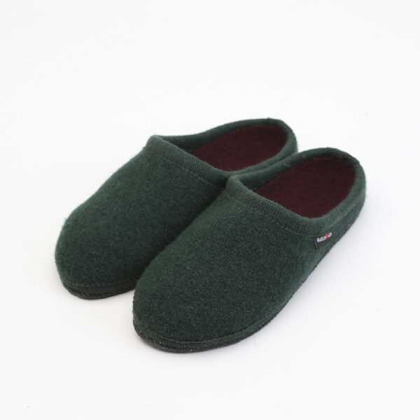 ROOM SHOSE DARK GREEN