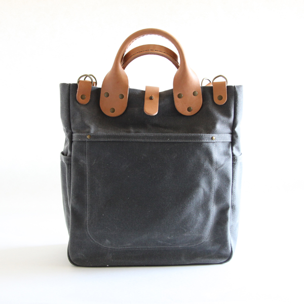 Tote Bag Garrison carryall Grey
