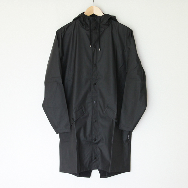 Long Jacket Black raincoat