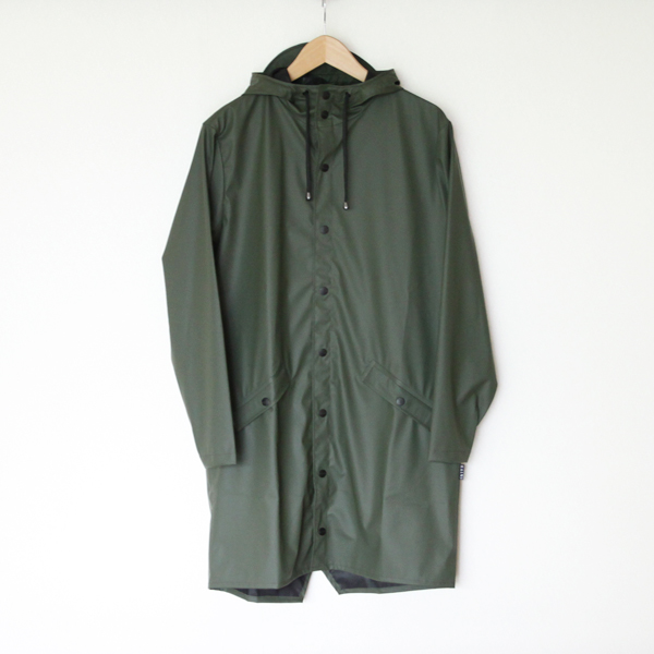 Long Jacket Green