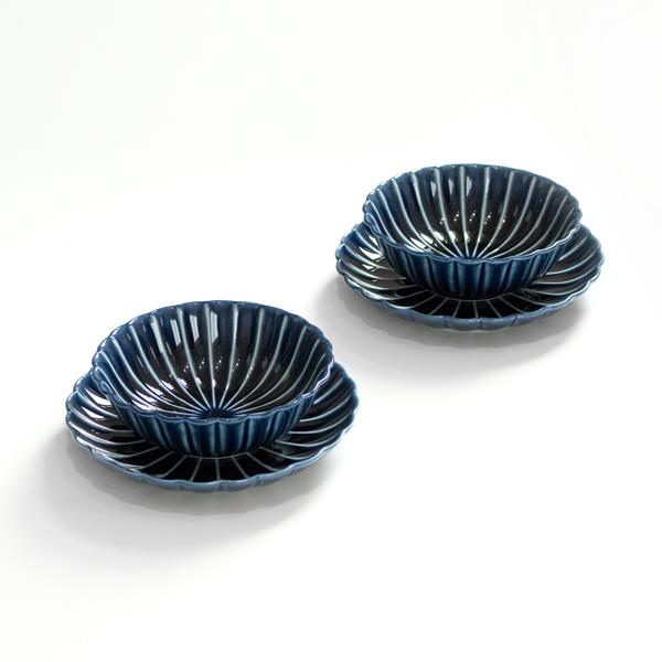デザートセット(茄子紺ブルー)
