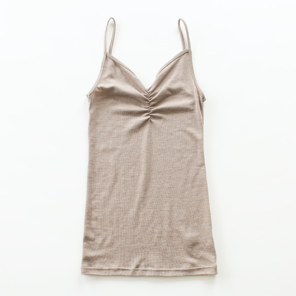 WOOL AND SILK CAMISOLE