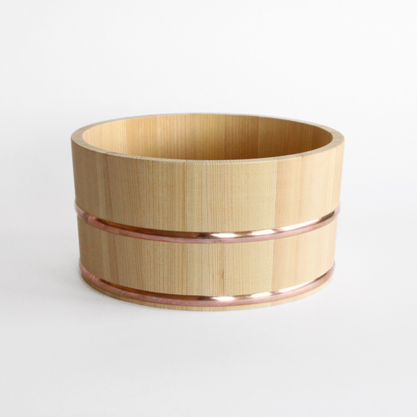CYPRESS BATHTUB BUCKET AND SOAP DISH