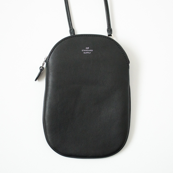 OVAL POUCH M(BLACK)