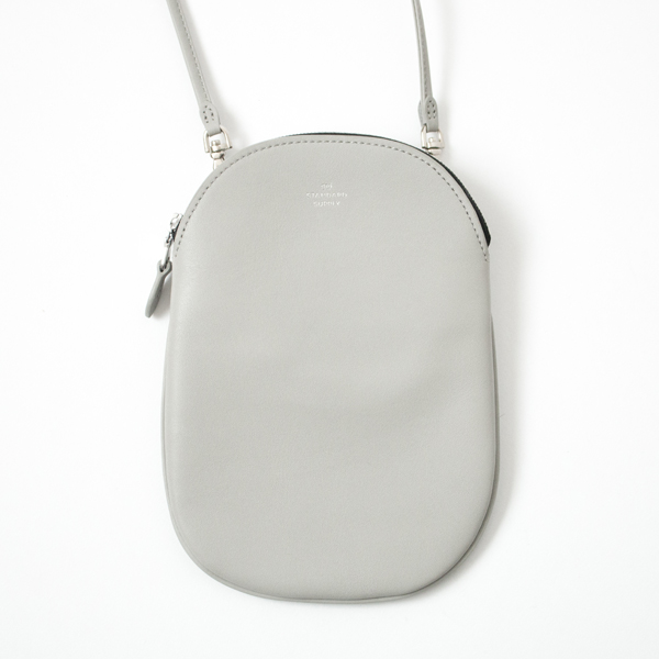 OVAL POUCH M(LIGHTGREY)