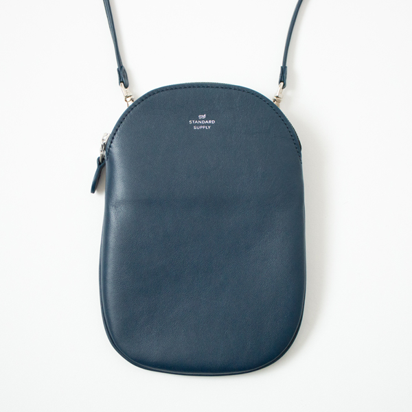 OVAL POUCH M(NAVY)