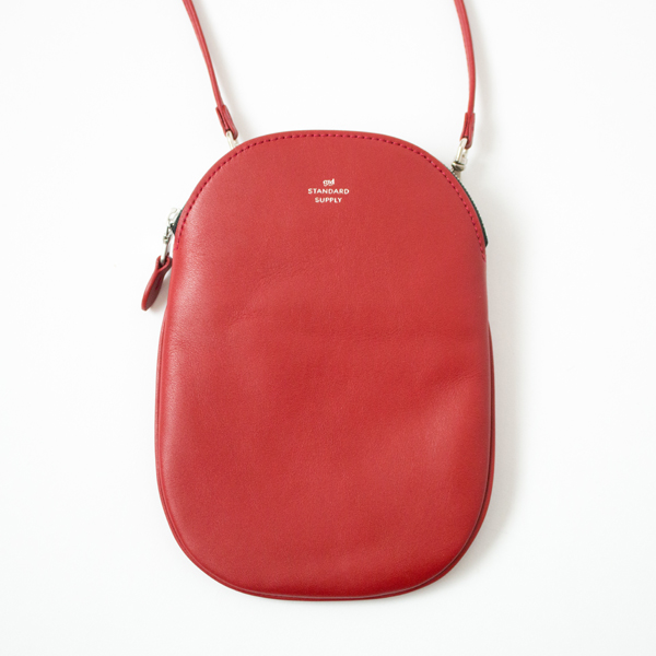 OVAL POUCH M(RED)
