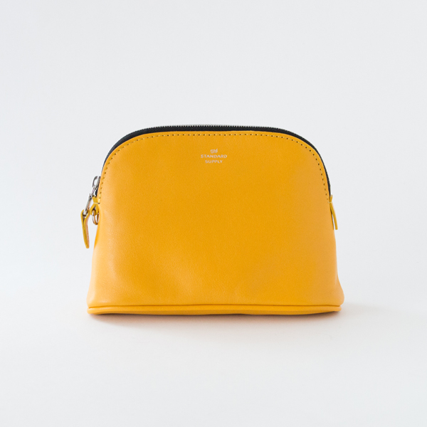 ZIP POUCH/M(YELLOW)