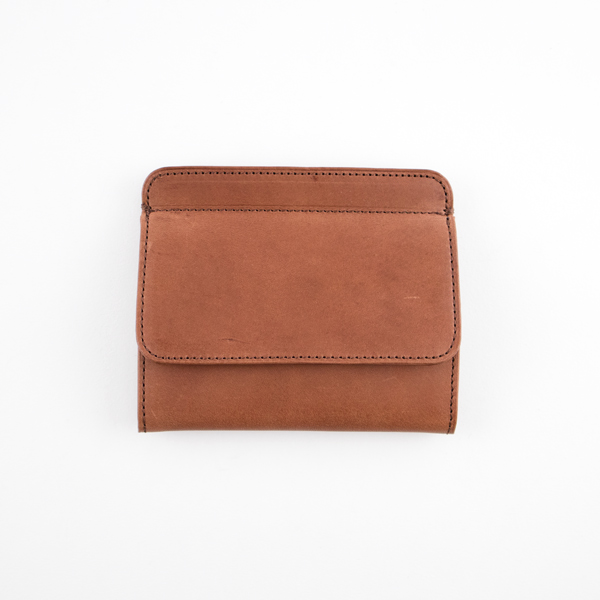 SLEEVE PURSE W BOXCOIN(BROWN GREEN)