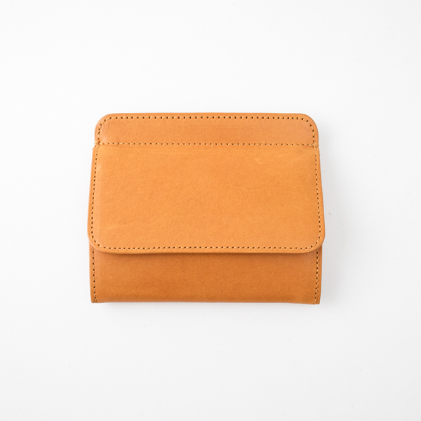SLEEVE PURSE W BOXCOIN(CAMEL YELLOW)