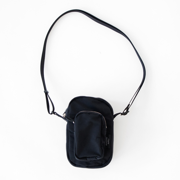 POCKET SHOULDER(BLACK)
