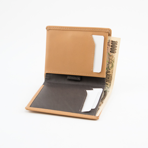 Note Sleeve Wallet(TAN)