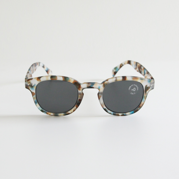 SUN GLASSES BLUE TORTOISE