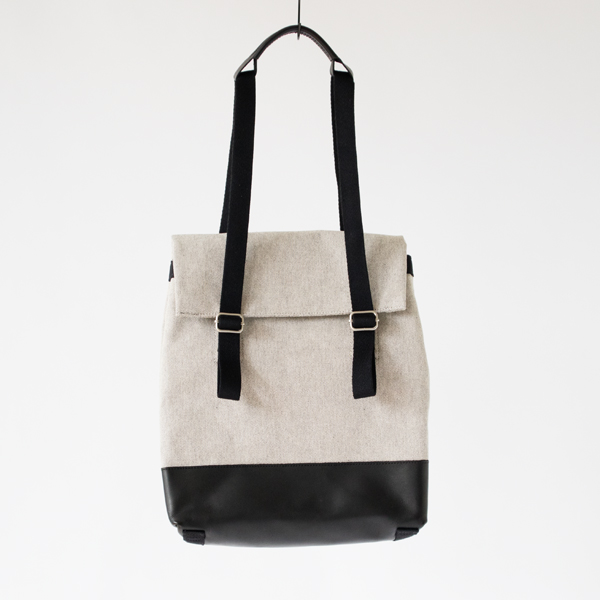 Small Tote(Raw Brend Leather Duotone)