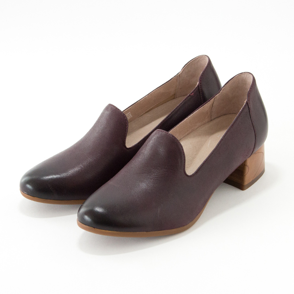 CHUNKY HEEL PRESTON Wine