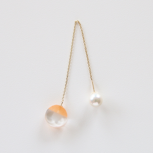 ピアス and Pierce(orangeaventurine)