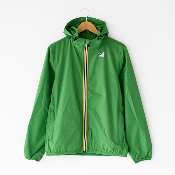 UNISEX Packable Windbreaker Green mid
