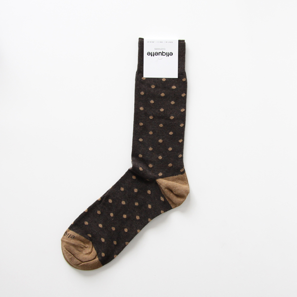 MENS MINI POLKA Vintage Chestnut Heather