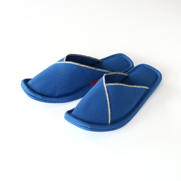 SLIPPERS INDIGO