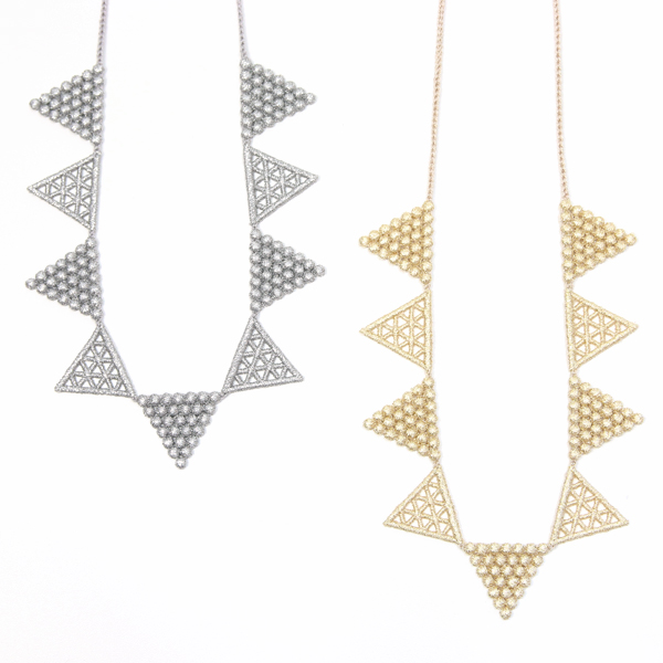 NECLLACE LACE TRIANGLE
