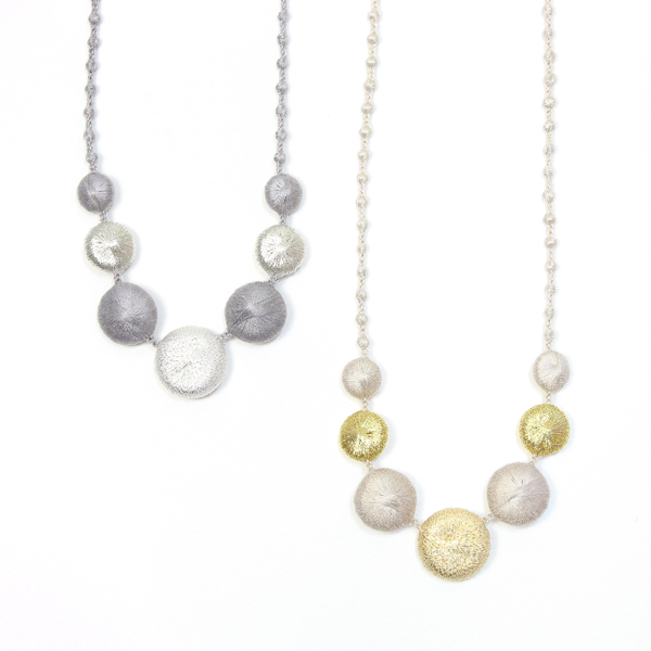 NECLLACE PEBBLE TRIO