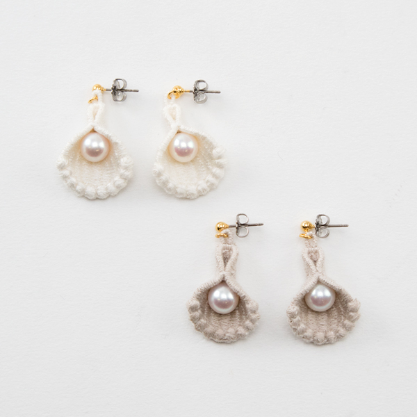 Earrings Shell