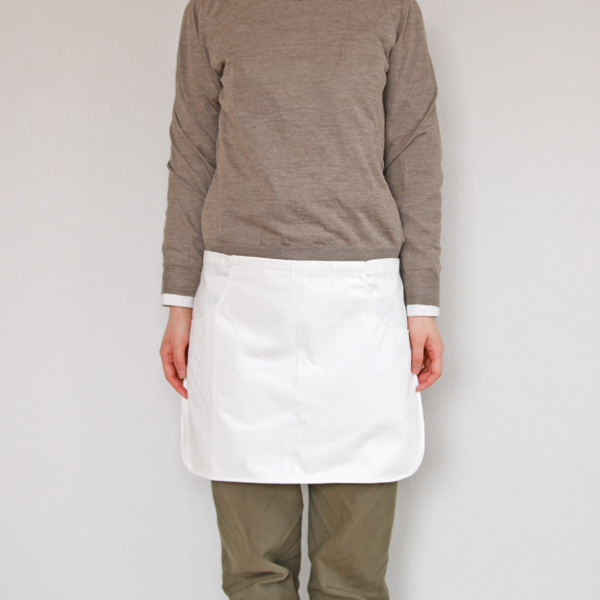 トレーズエプロン(Trades Apron)Off White