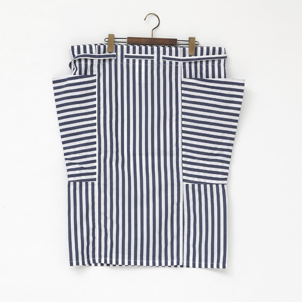 Side Pocket Apron Skirt
