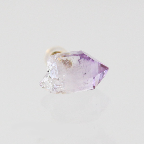 ROCK CRYSTAL PIERCE PURPLE
