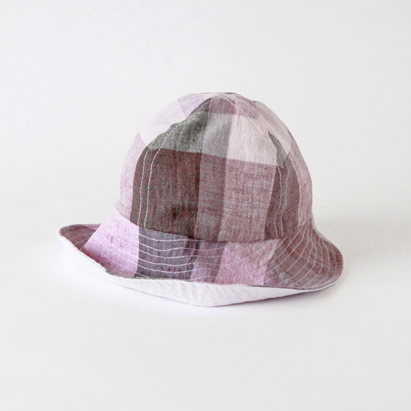 Alice Jr. Large Check Pink(キッズ帽)