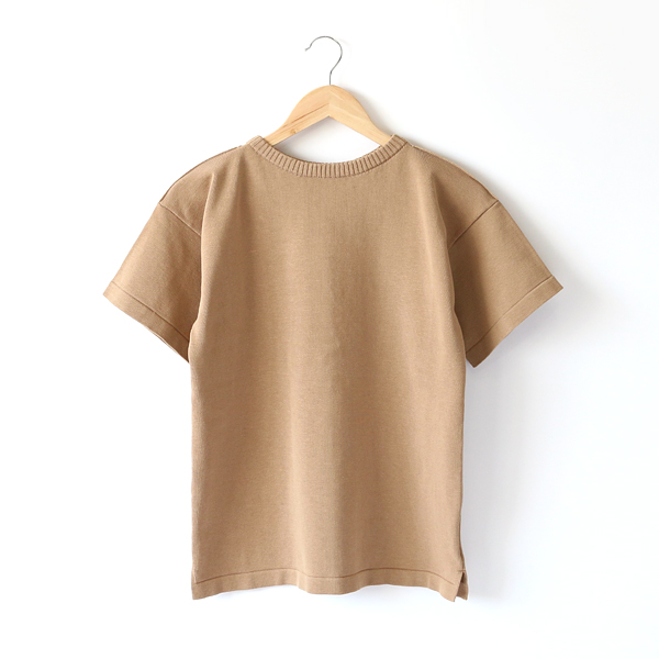 KNIT T-SHIRTS  CAMEL