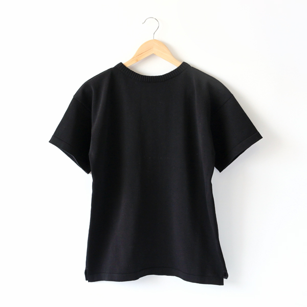 KNIT T-SHIRTS   BLACK