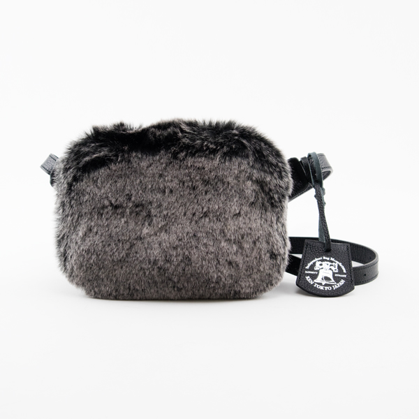 FAKE FUR MINI CHEST BAG