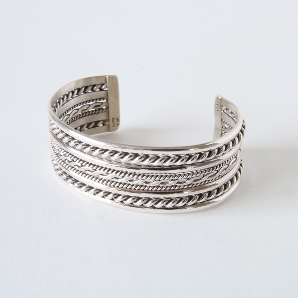 STERLING SILVER BANGLE WIDE SBW8